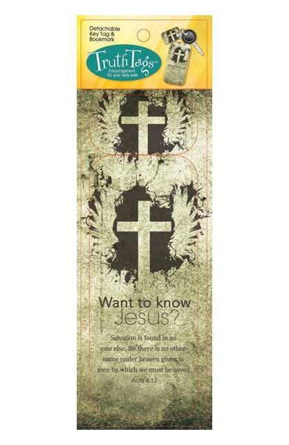 KNOW JESUS TRUTH TAG