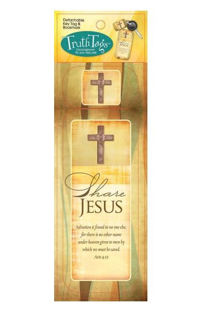 SHARE JESUS TRUTH TAG