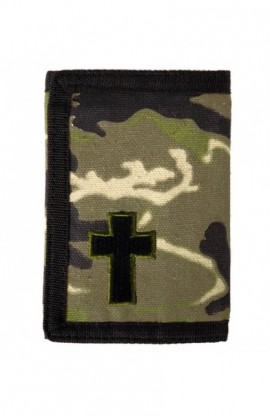 CAMO CROSS GUY'S WALLET