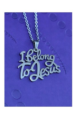I BELONG TO JESUS NECKLACE