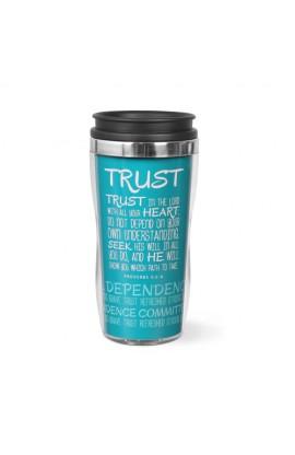 TRUST WAVY ACRYLIC STAINLESS STEEL TUMBLER
