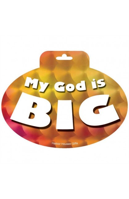 MY GOD IS BIG HOLOGRAPH SM