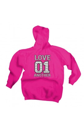 LOVE 01 HOODED SWEAT
