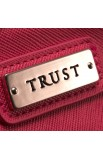 "Fine Textured Vinyl Wallet w/""Trust"" Badge (Pink)"