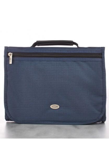 Navy Blue Three-Fold Organizer (Large)