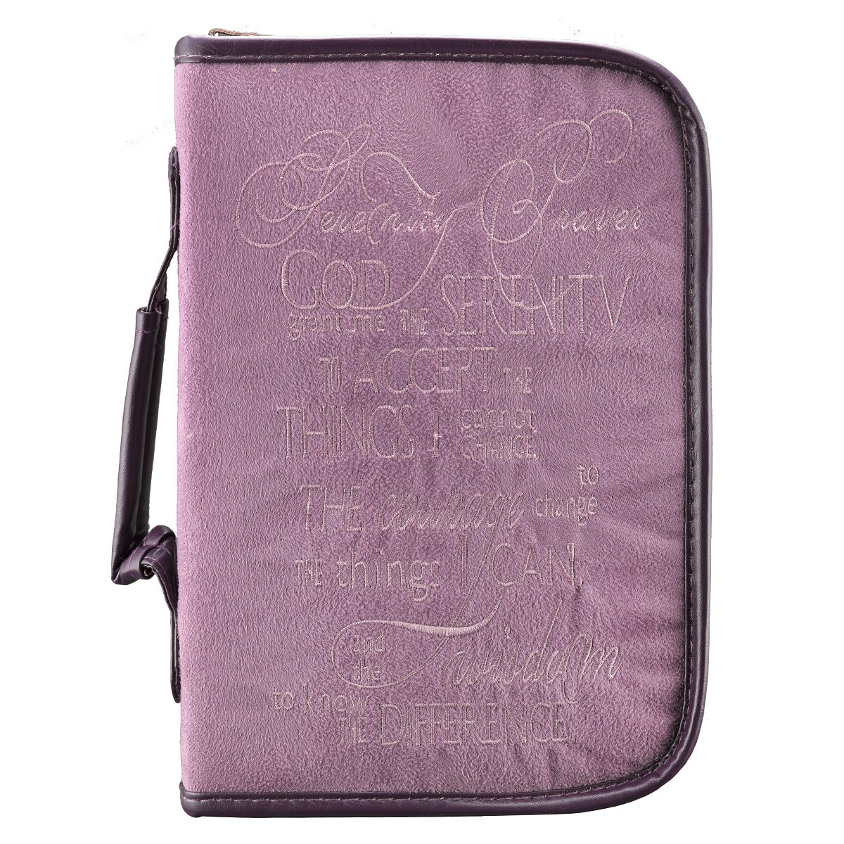 BIBLE COVER MED VALUE PRAY WAI