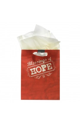 "Medium Gift Bag ""Retro Collection: Hope"" - Heb 6:19"