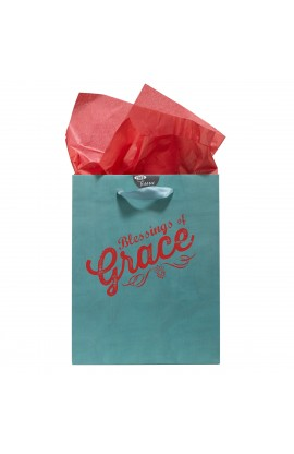 "Medium Gift Bag ""Retro Collection: Grace"" - 1 Tim 1:14"