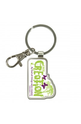 Care for Creation Epoxy Keyring