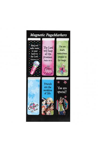 Little Miss Grace - Magnetic Bookmark