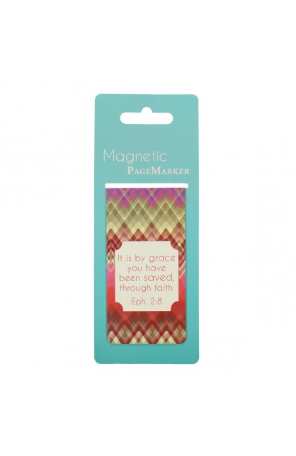 """""""Chic Chevron"""" Large Magnetic Pagemarker"""