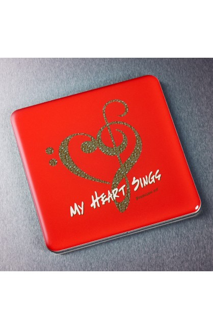 """""""My Heart Sings"""" Magnet"""