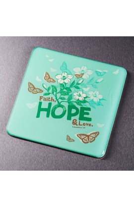 """""""Faith, Hope, Love"""" Magnet"""
