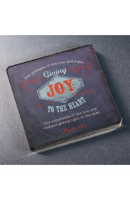 "Retro Collection ""Joy"" Magnet"