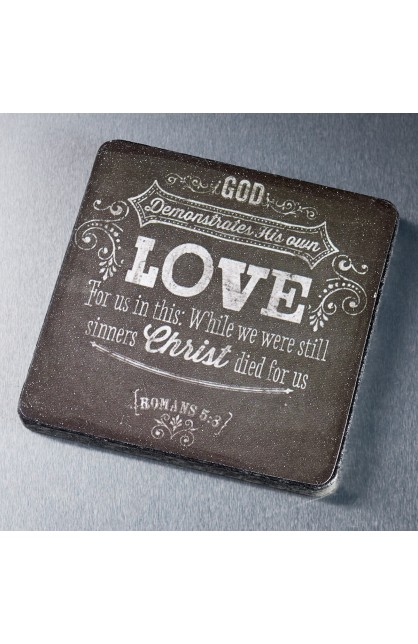 """Chalkboard Collection """"Love"""" Magnet"""