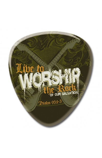 Worship - Metal Pin