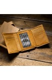 """Like Eagles"" Leaher Wallet - Isa 40:31"