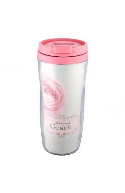"""""""Amazing Grace"""" Polymer Travel Mug"""