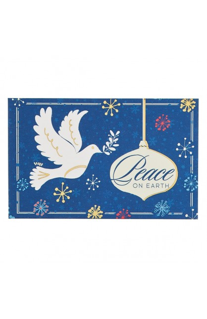 """""""Peace On Earth"""" Pass Around Card"""