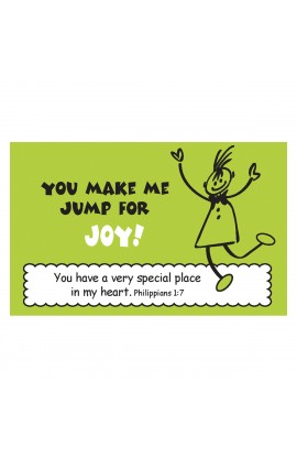 """Jump for Joy"" Pass Around Card"