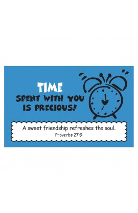 """Time Spent with You"" Pass Around Card"