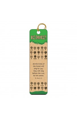 Rejoice   Tassle Bookmark