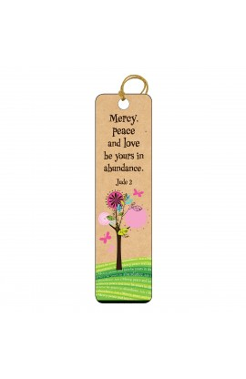 Mercy Peace Love Tassle Bookmark