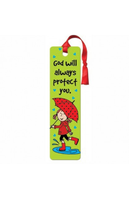 LDB God will always protect you - Tassle Bookmark
