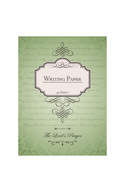 Writing Pad: The Lord's Prayer