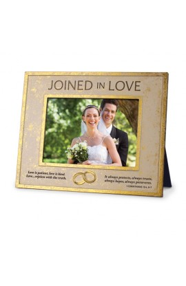 JOINED IN LOVE ENGRAVED FRAME