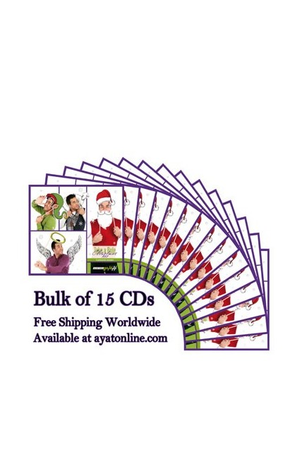 TAKE A ROLE CHRISTMAS 2012 BULK OF 15 CDS