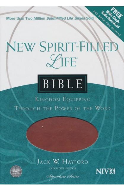 NIV NEW SPIRIT FILLED LIFE BIBLE