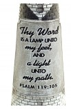 THY WORD IS A LAMP SCULPTURE