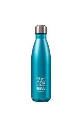 SS Water Bottle Green Minds Col 3:2