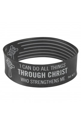 Black Wristband Phil 4:13
