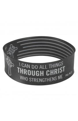 Black Wristband Phil 4:13