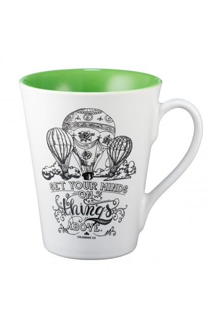 Mug Set Your Minds on Things Above