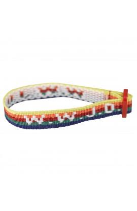 Wristbands Multi Colour, W.W.J.D.