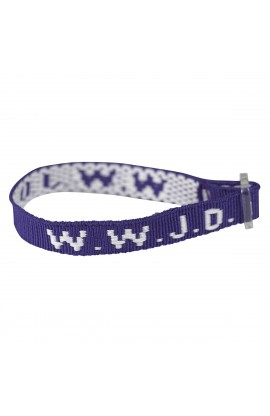 Wristbands   Purple, W.W.J.D.