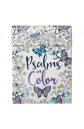 Coloring Cards Psalms in Color