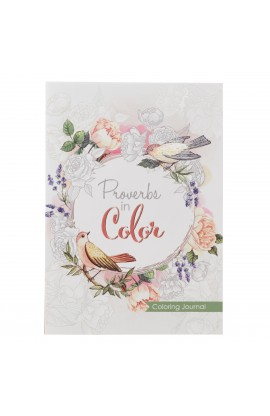 Coloring Journal Proverbs in Color