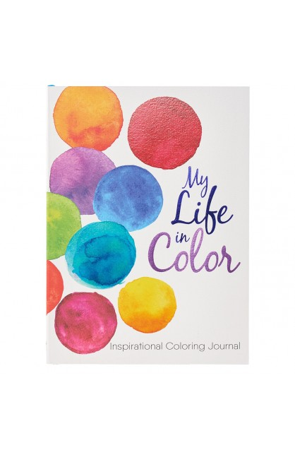 Coloring Journal My Life in Color