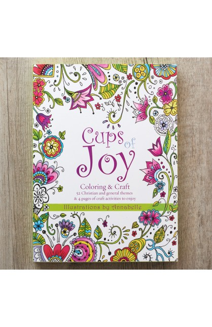 Coloring Book Cups of Joy