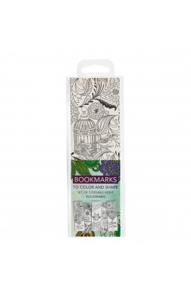 Coloring Bookmarks Faith Green