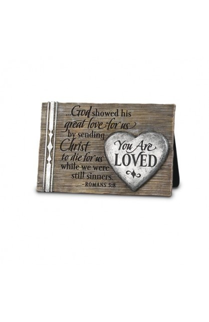 Plaque-Cast Stone-You Are Loved