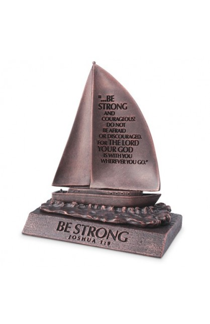 Sculpture-Moment of Faith-Small-Sailboat-Be Strong