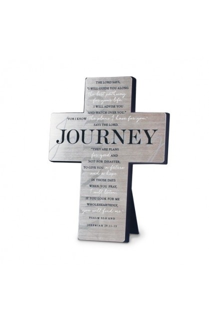 Cross-Wall/Desktop-Metal-Silver Printed-Journey