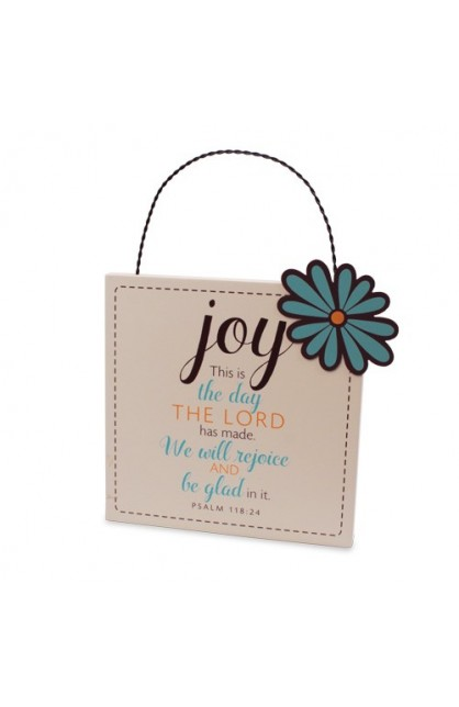 Plaque-MDF/Metal-Filled With...Joy