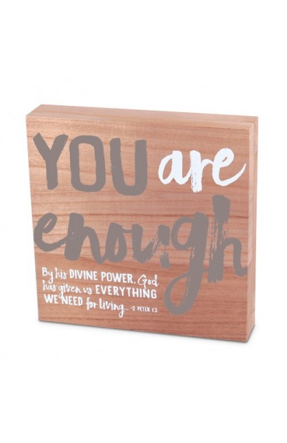 Plaque-Wood-Identity-You Are Enough