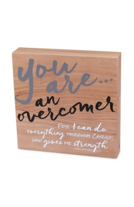 Plaque Wood Identity You Are An Overcomer